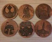Star Wars Coasters Set of 6