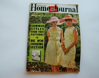 September 1965 Australian Home Journal Magazine with free patterns