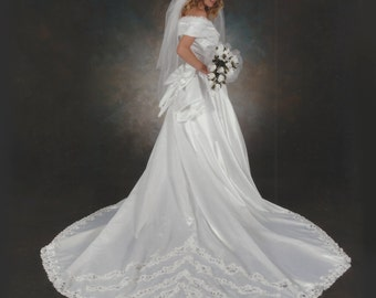 1992 Wedding Dress