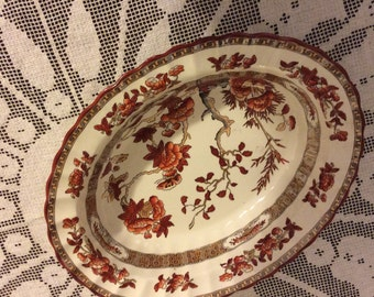 Spode India Tree Vegetable Dish