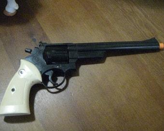 Vintage 70's Magnum Crown Model Company .44 Magnum Gun Model