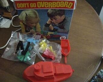 1971 SCHAPER Don't Go Overboard Game