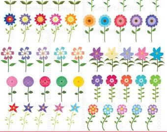 Petals clip art – Etsy