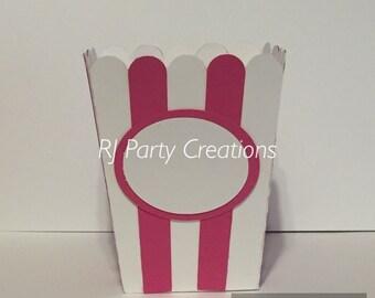 Circus theme mini popcorn box