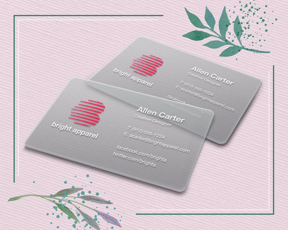 28 plastic business cards fresh 20pt frosted business plastic business cards fresh 20pt frosted business plastic business cards frosted by prelinx on etsy reheart Gallery
