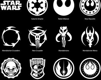 Star Wars Emblem Etsy