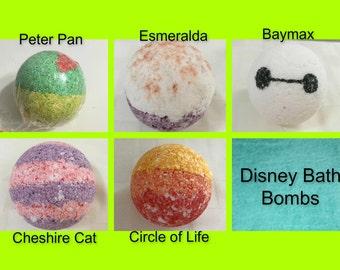 Disney Bath Bombs