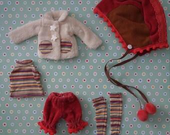 Starry Stripe Munchkin Set * Blythe * Pullip *