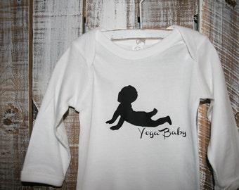 Yoga Baby Cotton Onesie/Tee