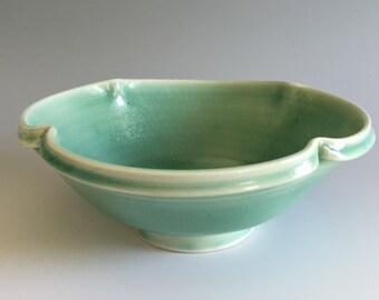 Pottery : Small Celadon Porcelain Bowl
