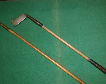 Hickory golf putters