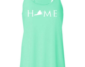 Virginia home tank top, Your state tank, Virginia shirt, Virginia tank top, Virginia home, Virginia home T