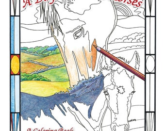 A Day With The Horses  Coloring Book