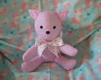 pink  pig stuffed  animal