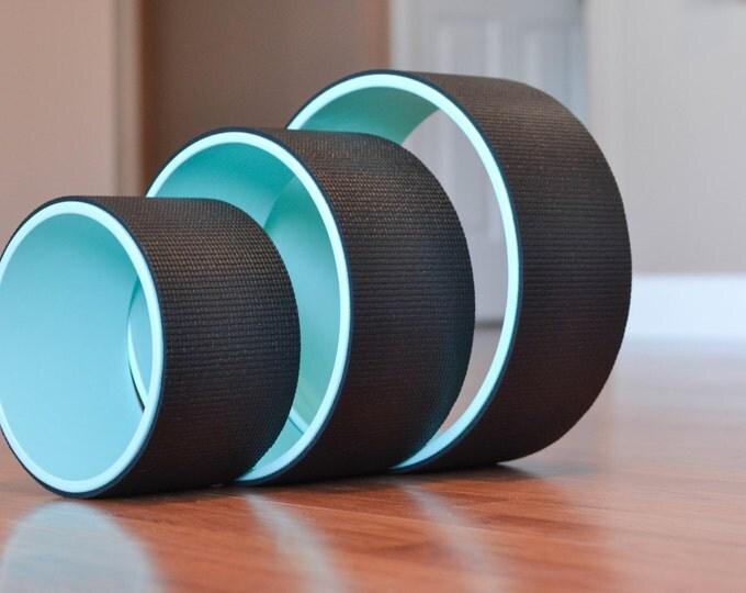 "Yoga Wheel Set- 8"", 10"", 12"" (Black)"