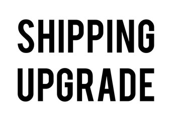 Upgrade To Tracked Shipping