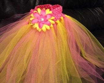 Pink/yellow tutu