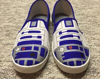 R2D2 Slip-on Canvas Shoes