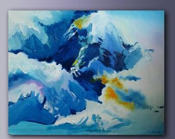 Mountain air. Abstraction.