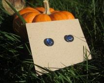 Blue Fused glass Moonlight blue posts/mermaids/fused glass/minimalist/stud earrings/glass posts/bridesmaid/gift/blue posts/bridal earrings