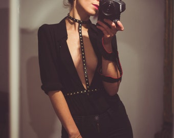 01 Leather BODY HARNESS