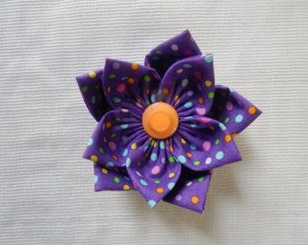 Hair bow flower
