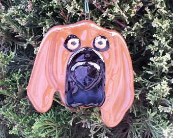 Hound ornament