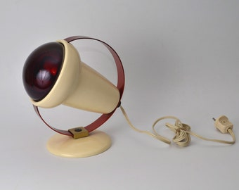Inphraphil 50's Philips red heat lamps type 7526 designed by Charlotte Perriand