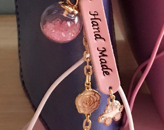 Glass Ball Collection - Pink Crystal