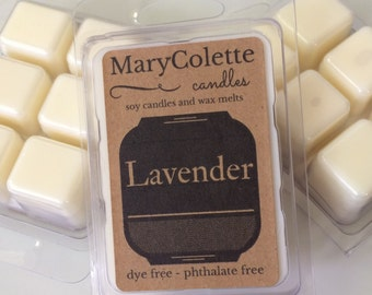 Lavender Soy Wax Melts | Floral Scented Soy Wax Melts | Lavender Scent | Calming Scents | Soy Wax Melts
