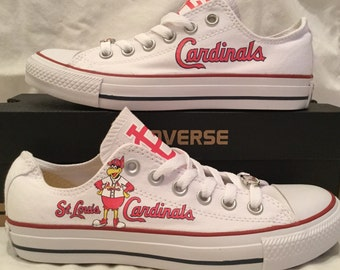St. Louis Cardinals Converse Chuck Taylor Sneakers MLB