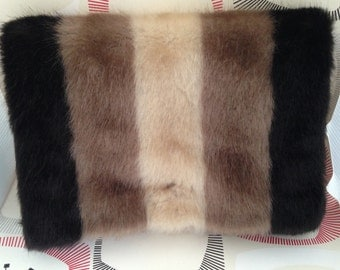 Handmade Faux Fur Bag