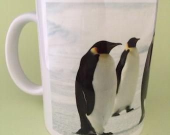 Emperor Penguins Mug