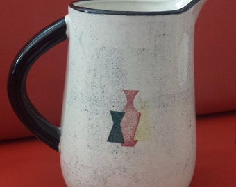 Vintage 1960s Capri Pitcher by Royal Sealy Japan