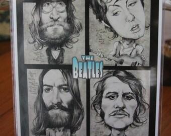 The Beatles art print by Sheik