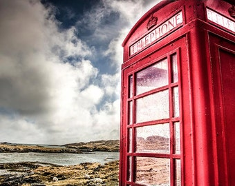 Little Red Phone Box