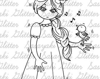 Singing Bird By Sasayaki Glitter