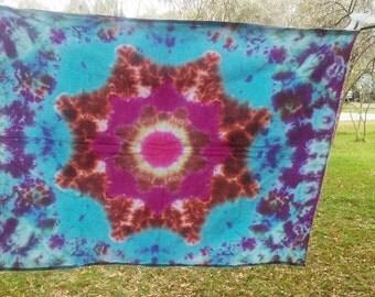 Mandala, Tie dye, Tie dye tapestry, Mandala Tapestry