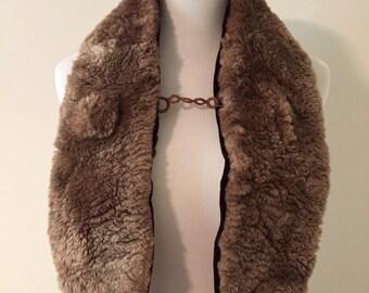 1950s Vintage Fur Collar