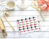 Beauty Sponge Stickers || 29 Planner Stickers
