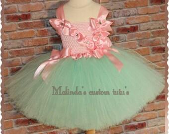 Bowlicous easter tutu dress Size 6mo.- 4T