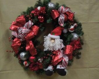 Ho Ho Holiday Wreath