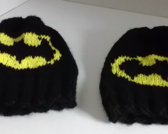 BatMan Hat ~ Custom Made ~ Any Size ~