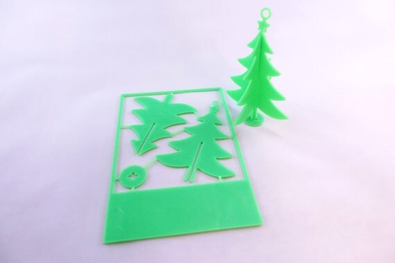 3D Printed Christmas Card Ornaments Christmas Tree