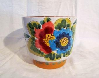 West German Ceramic Vase / Flower Pot