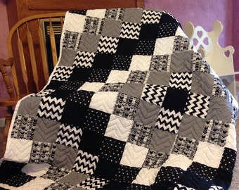 Patchwork Twin Size Quilt