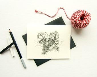 The owl card