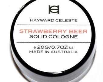 Hayward Celeste Strawberry Beer Solid Cologne