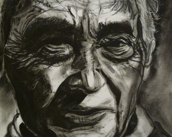Howard Zinn 11'' by 17'' poster reproduction