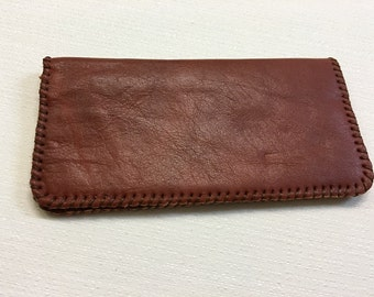 Genuine Leather Hand made Wallet, Iphone case